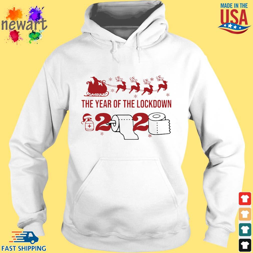 2020 toilet paper the year of the lockdown Christmas sweats hoodie trang