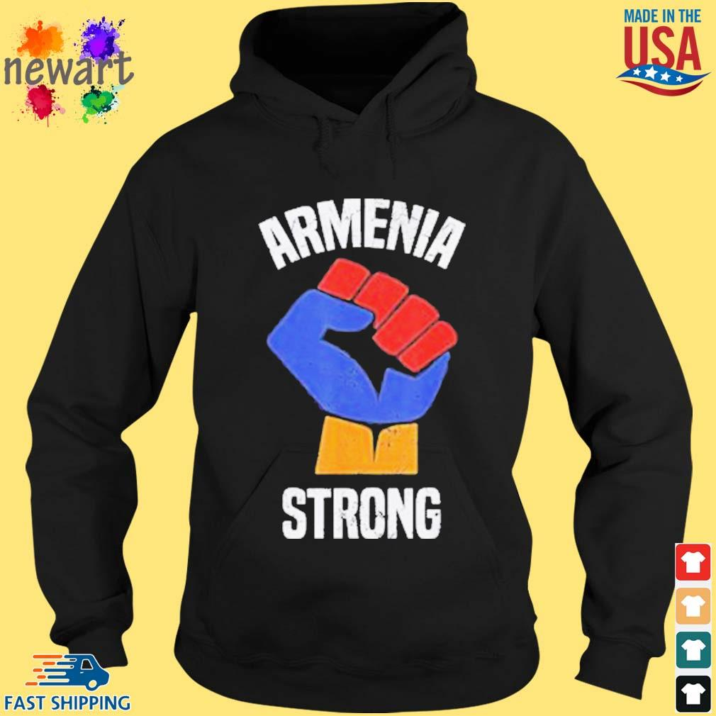 Armenia Strong Shirt Artsakh Republic Defend Armenian Fist Shirt hoodie den