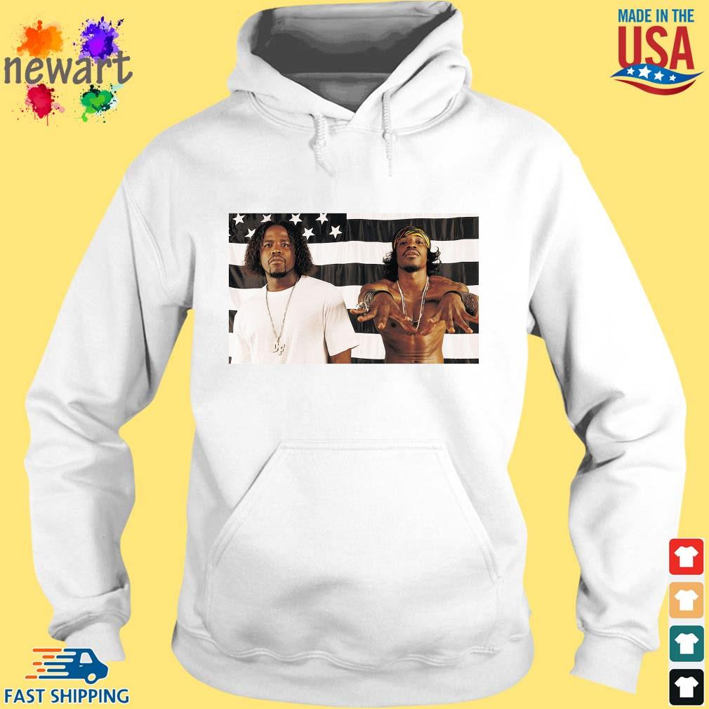 Big Boi And Andre 3000 Of Outkast Shirt hoodie trang