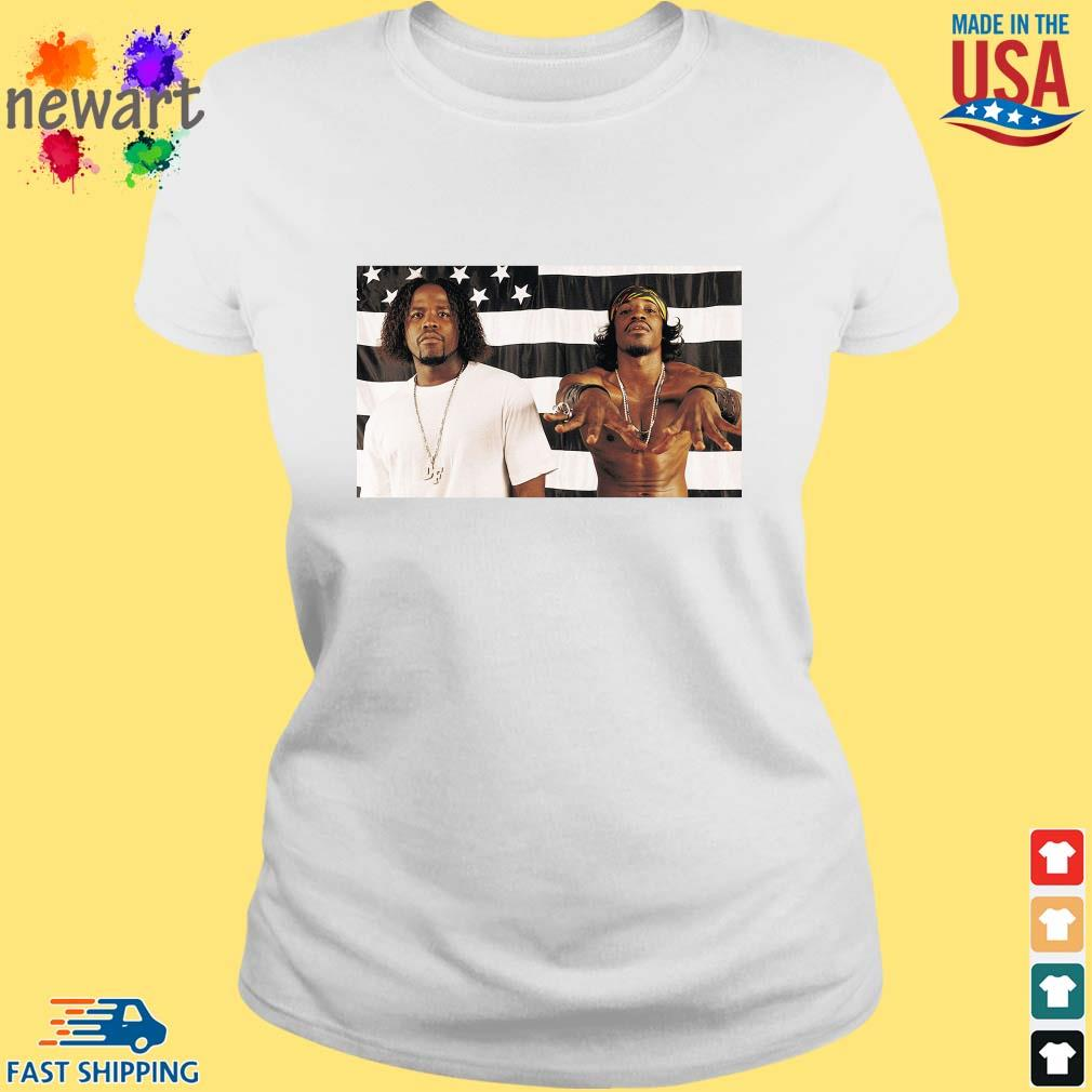 Big Boi And Andre 3000 Of Outkast Shirt ladies trang