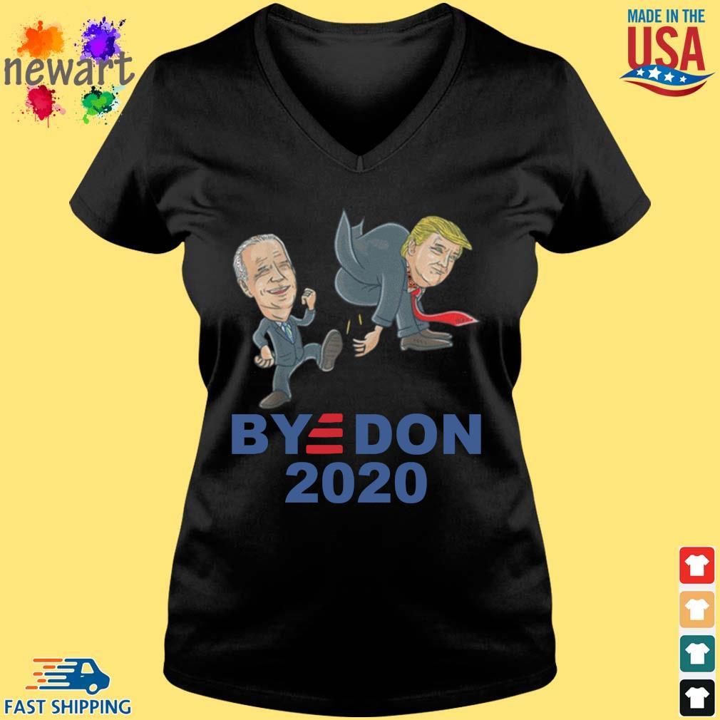 Bye Don Joe Biden kick Donald Trump 2020 s Vneck den