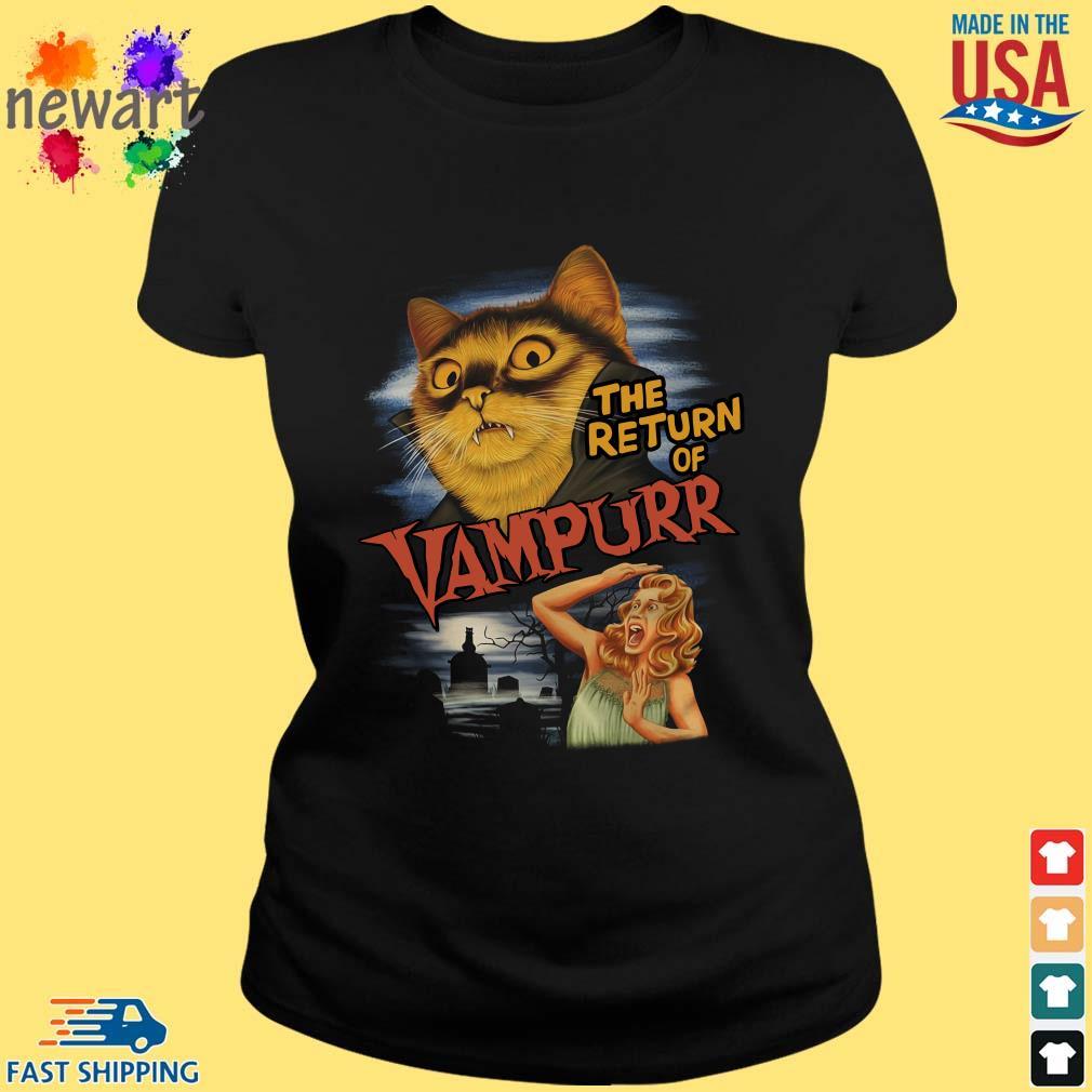 Cat Vampire The Return Of Vampurr Ladies Vest Tank Top Funny Halloween