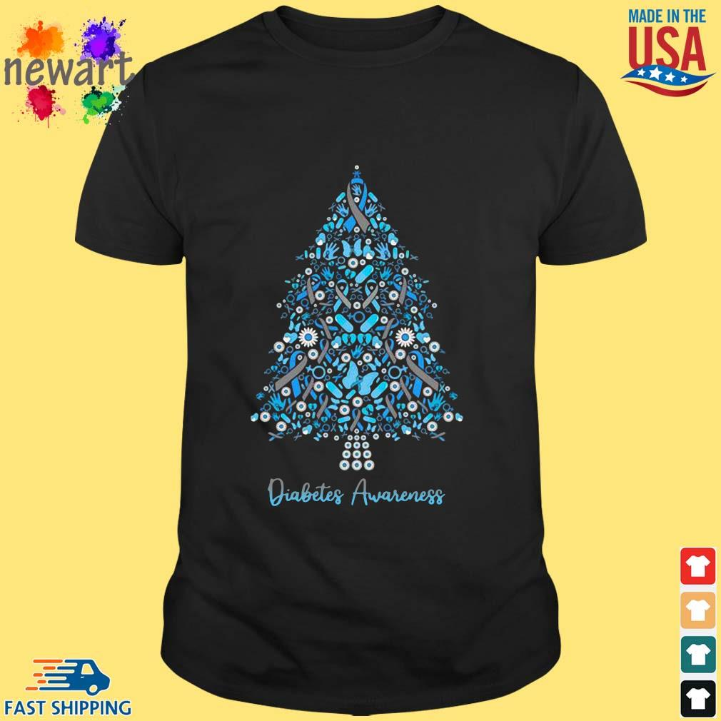 Diabetes Awareness Christmas shirt