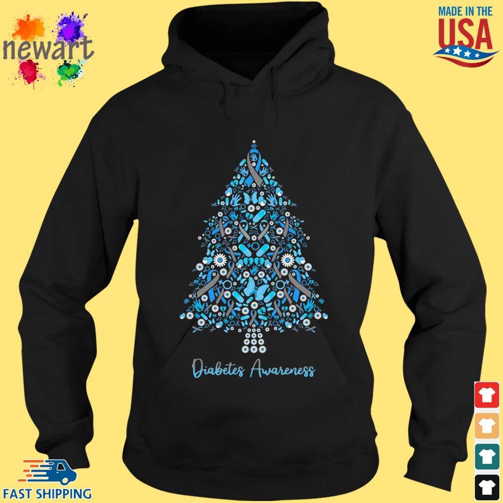Diabetes Awareness Christmas s hoodie den