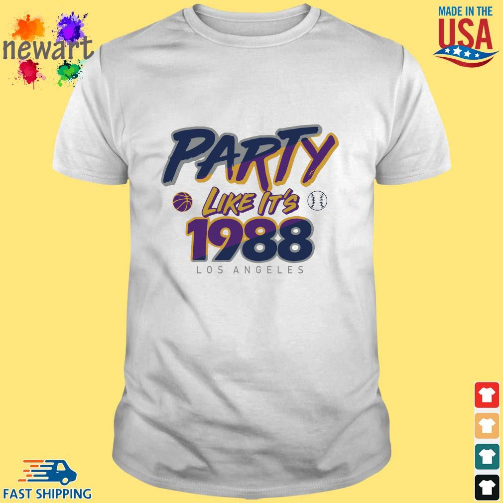 Los Angeles Baseball Party Like It's 1988 Shirt