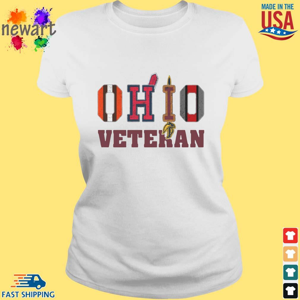 Ohio Cleveland Browns Cleveland Indians Cleveland Cavaliers and Ohio State Buckeyes veteran s ladies trang
