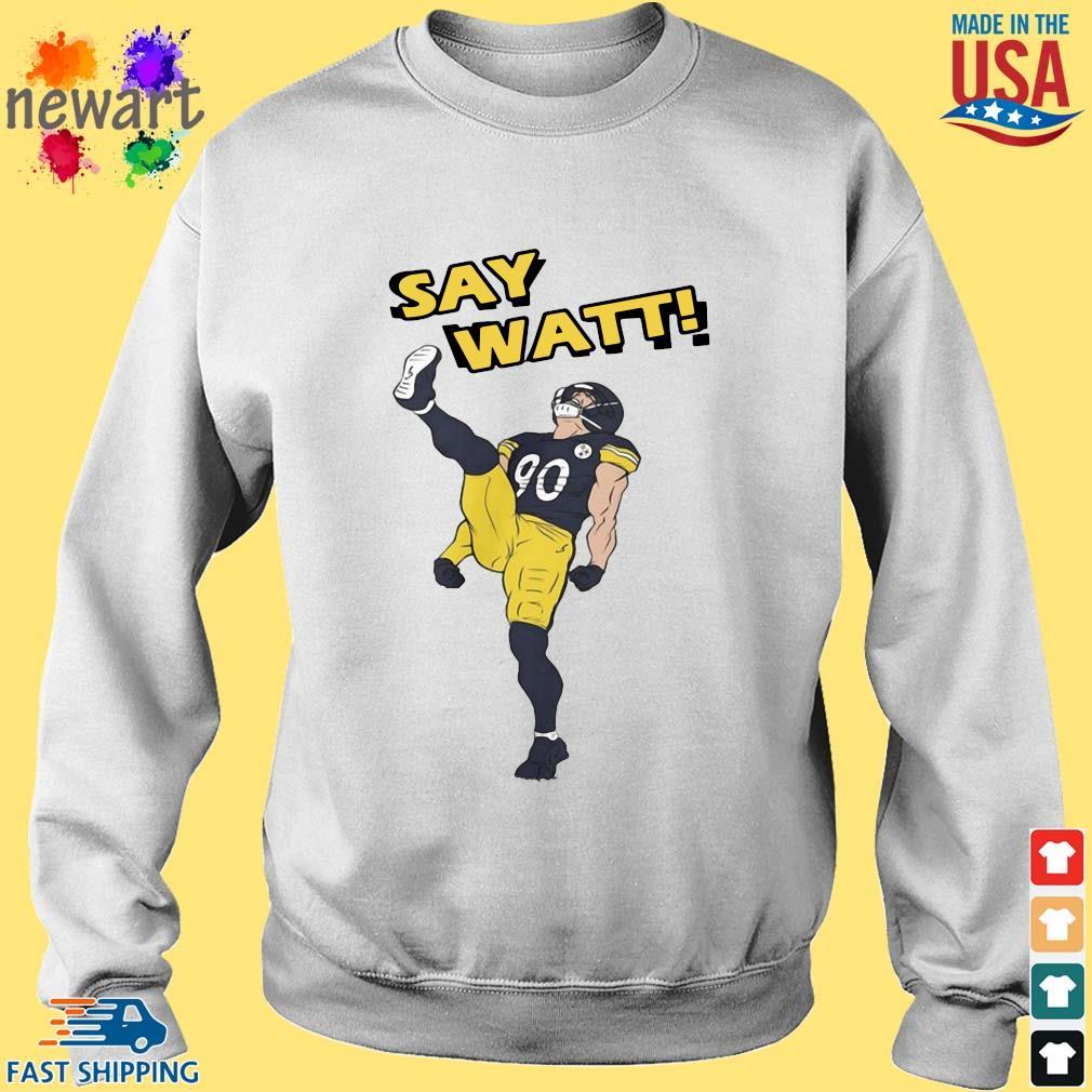 Pittsburgh Steelers Say Watt s Sweater trang