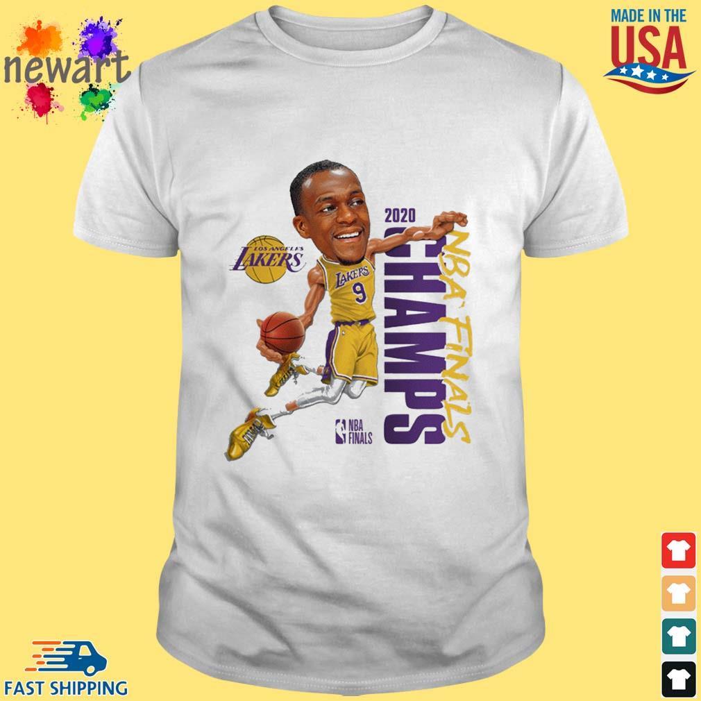 Rajon Rondo Los Angeles Lakers Branded 2020 NBA Finals Champions Shirt
