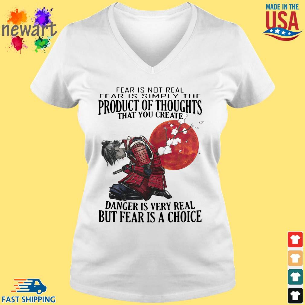 Samurai fear is not real simply the product of thoughts blood moon s vneck trang