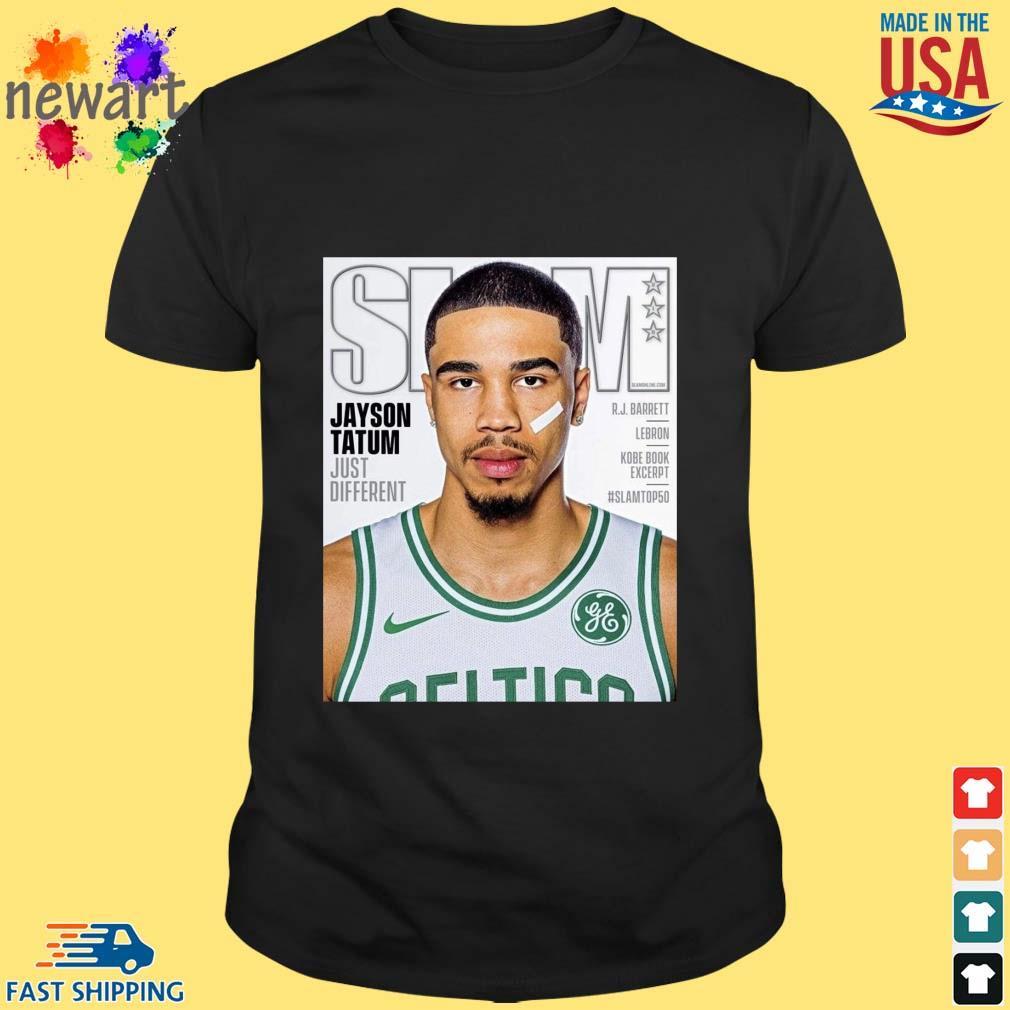 Slam Jayson Tatum basketball shirt