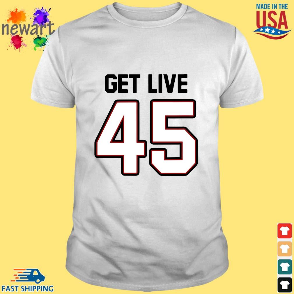 Tampa Bay Football Get Live 45 Shirt