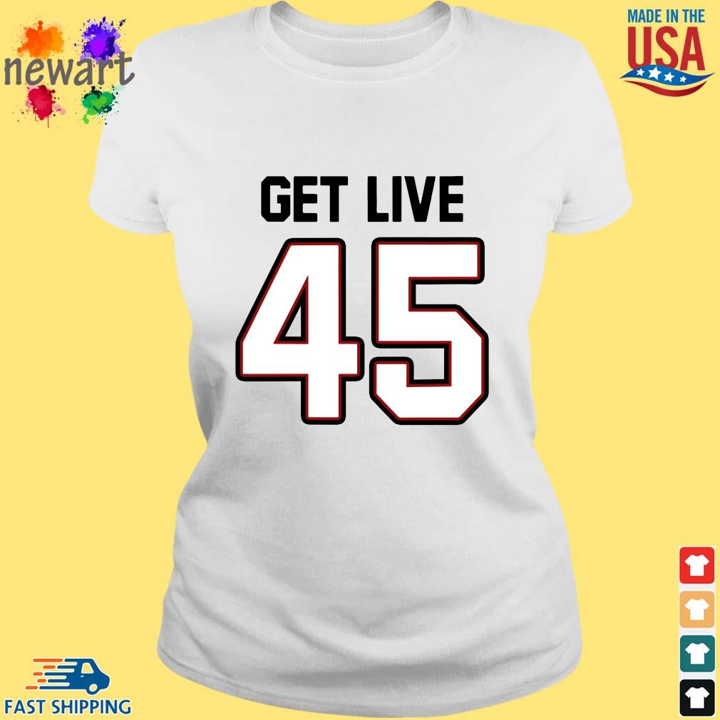 Tampa Bay Football Get Live 45 Shirt ladies trang