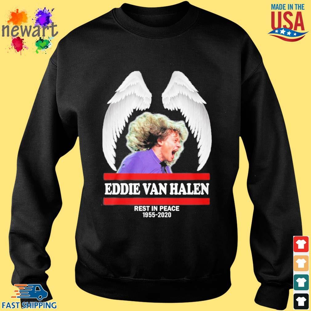 Wings Eddie Van Halen rest in peace 1955-2020 s Sweater den