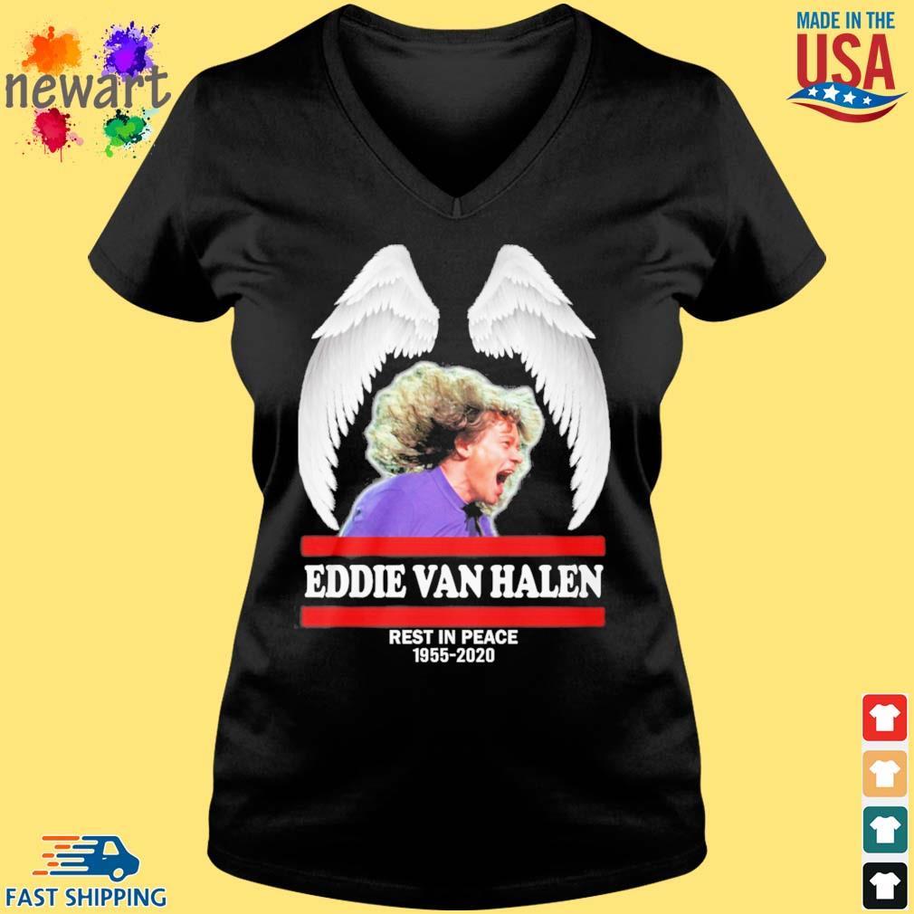 Wings Eddie Van Halen rest in peace 1955-2020 s Vneck den