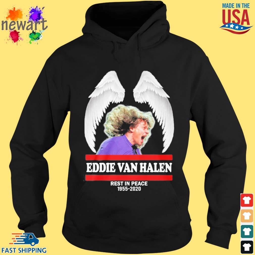 Wings Eddie Van Halen rest in peace 1955-2020 s hoodie den