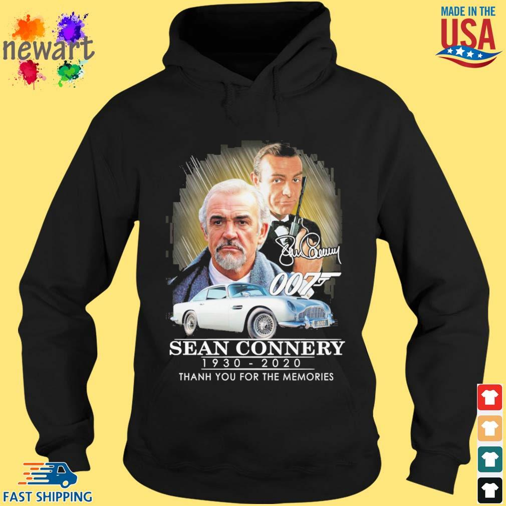 007 Sean Connery 1930-2020 thank you for the memories signatures s hoodie den