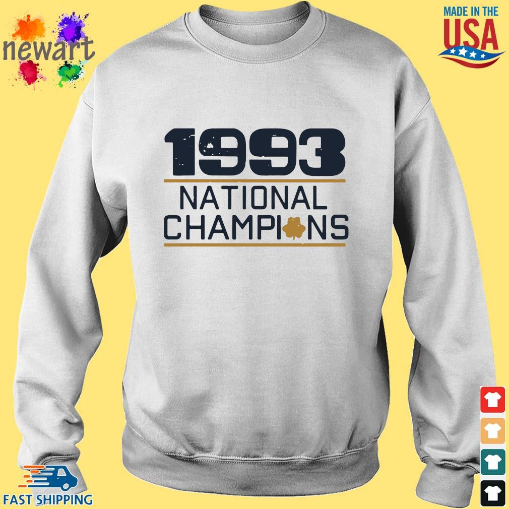 1993 national Champions s Sweater trang