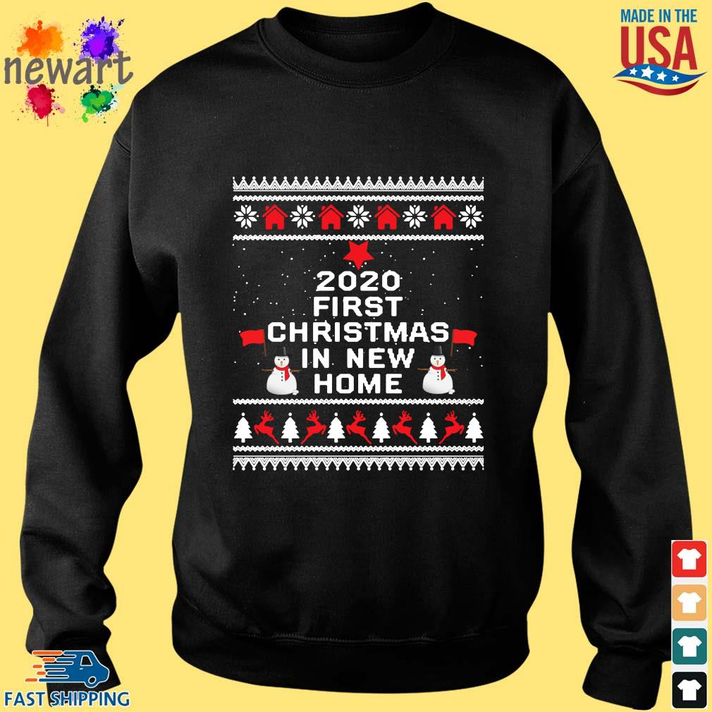 2020 first Christmas in new home Ugly Christmas sweater