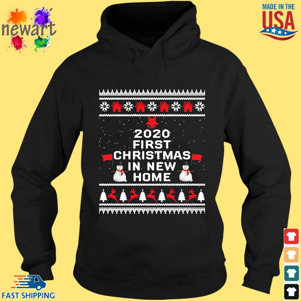 2020 first Christmas in new home Ugly Christmas sweater hoodie den