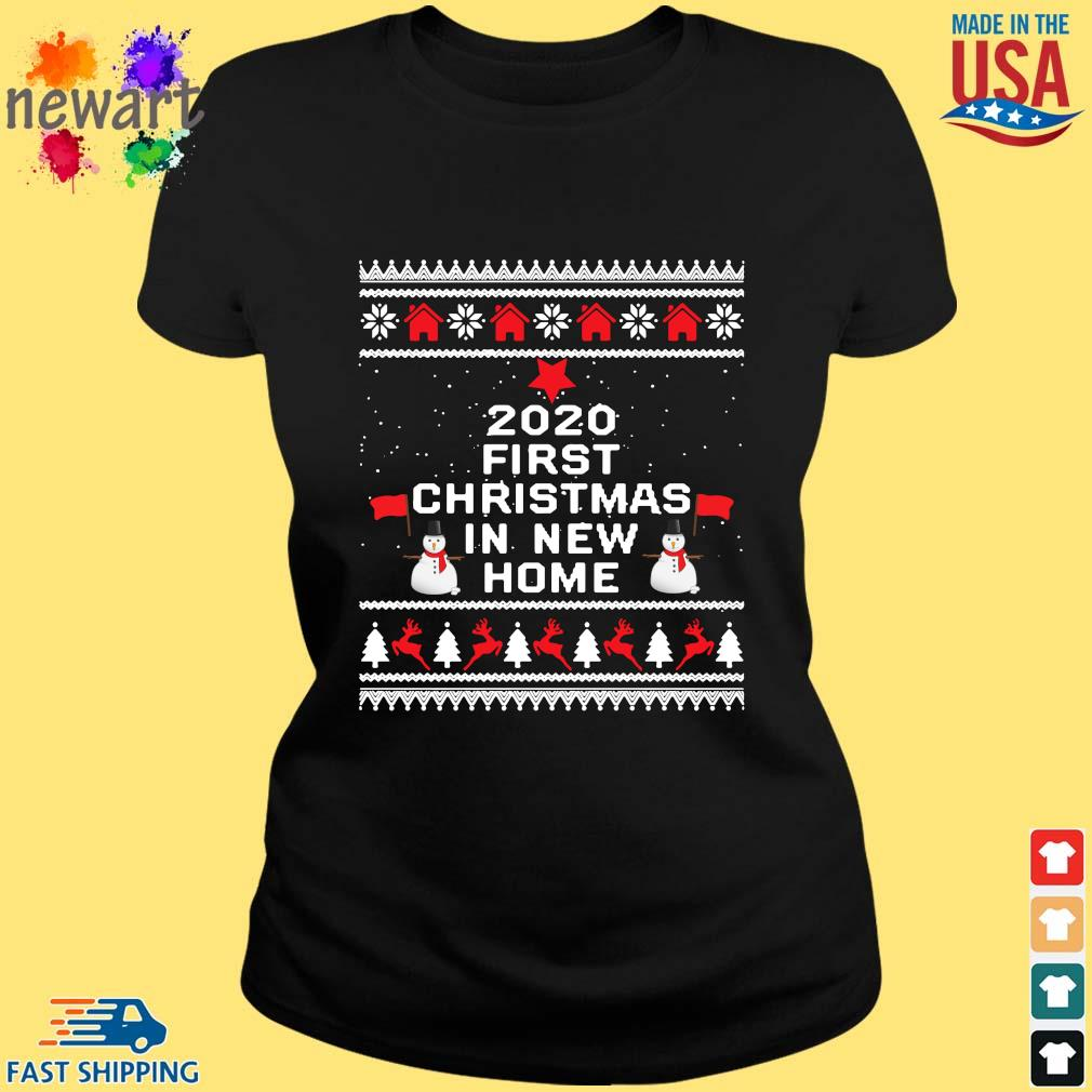 2020 first Christmas in new home Ugly Christmas sweater ladies den