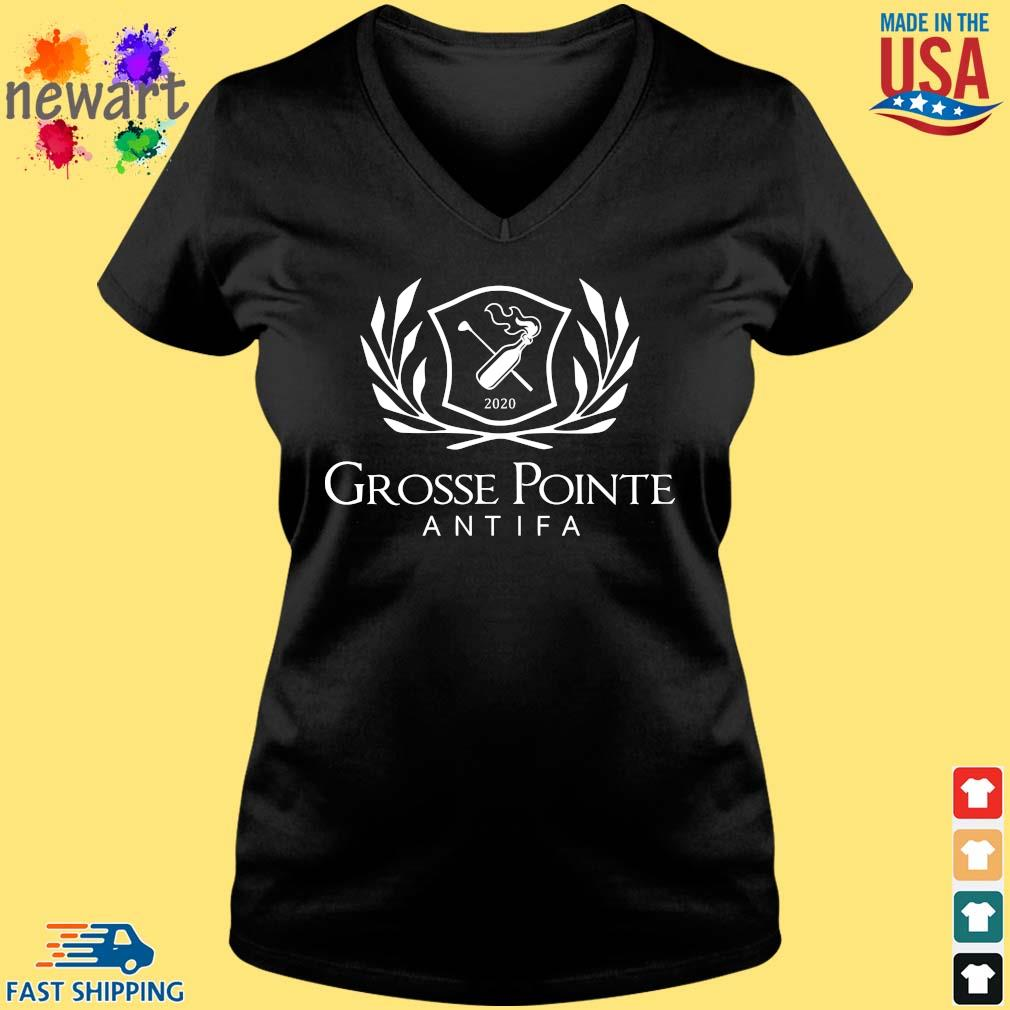 2020 Grosse Pointe Antifa Shirt Vneck den