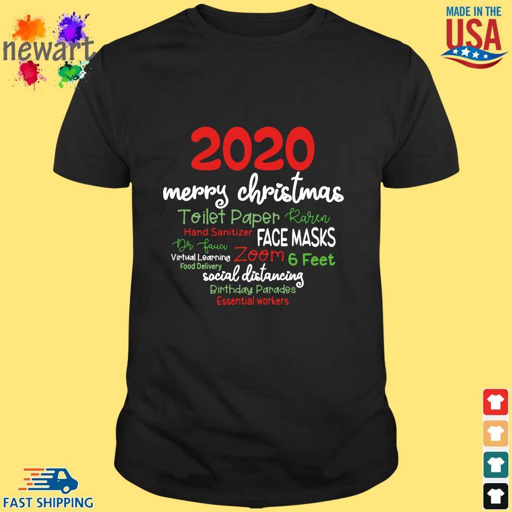 2020 Merry Christmas Toilet Paper Karen Hand Sanitizer Face Masks Dr Fauci sweater Shirt den
