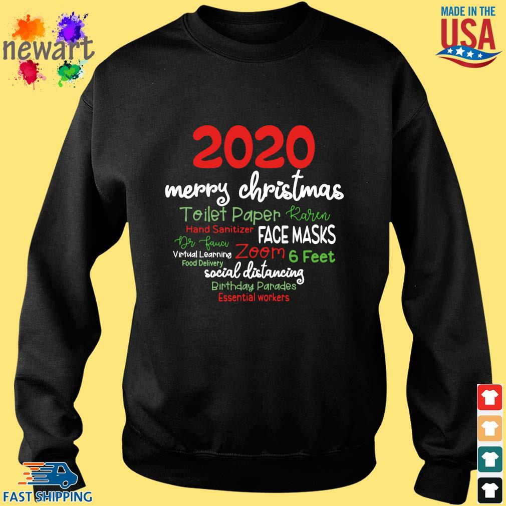 2020 Merry Christmas Toilet Paper Karen Hand Sanitizer Face Masks Dr Fauci sweater