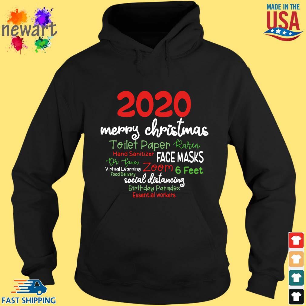 2020 Merry Christmas Toilet Paper Karen Hand Sanitizer Face Masks Dr Fauci sweater hoodie den