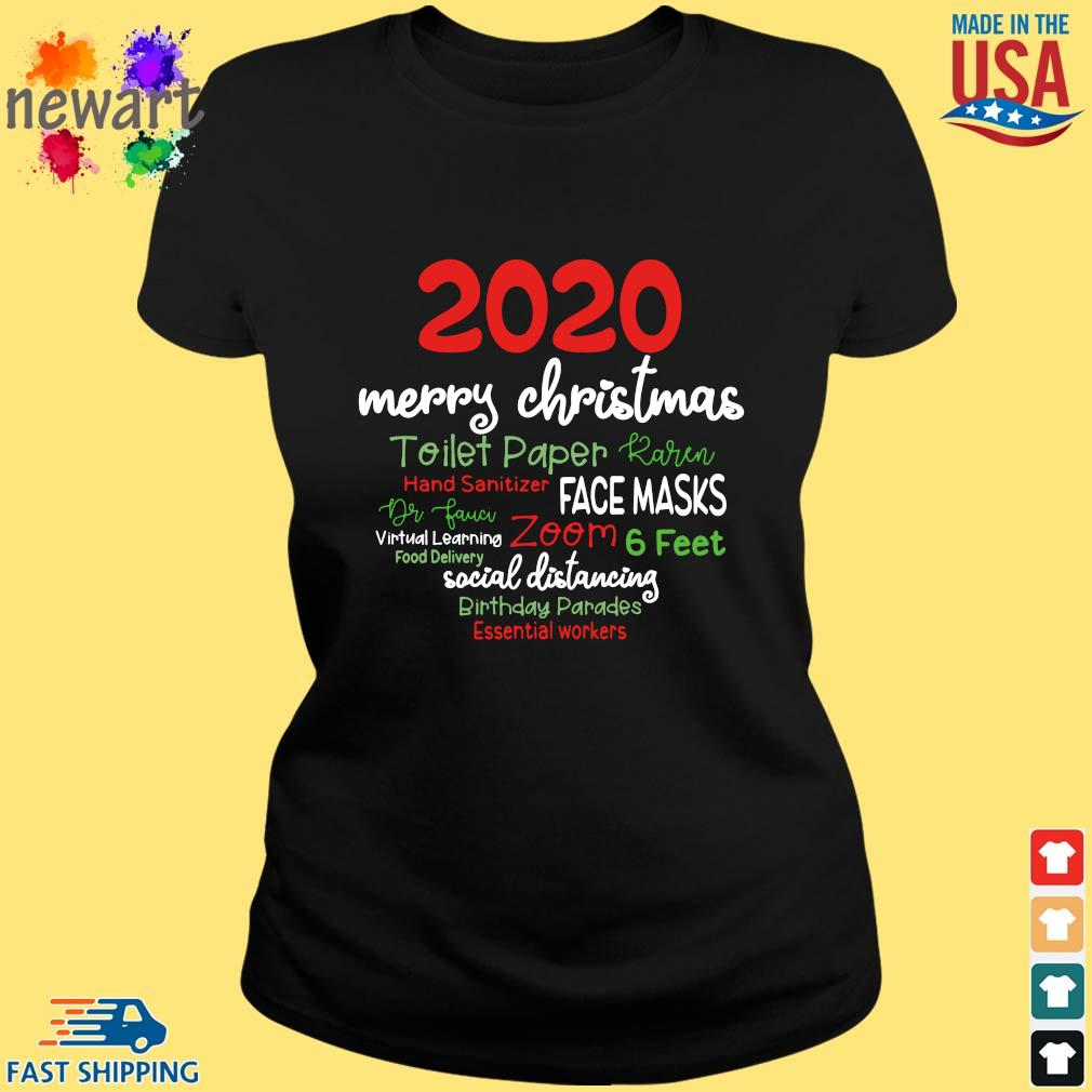 2020 Merry Christmas Toilet Paper Karen Hand Sanitizer Face Masks Dr Fauci sweater ladies den