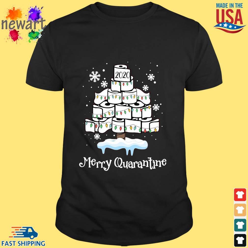 2020 toilet paper Merry Christmas quarantine sweater Shirt den