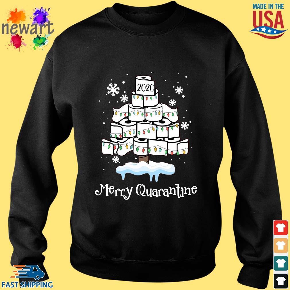 2020 toilet paper Merry Christmas quarantine sweater