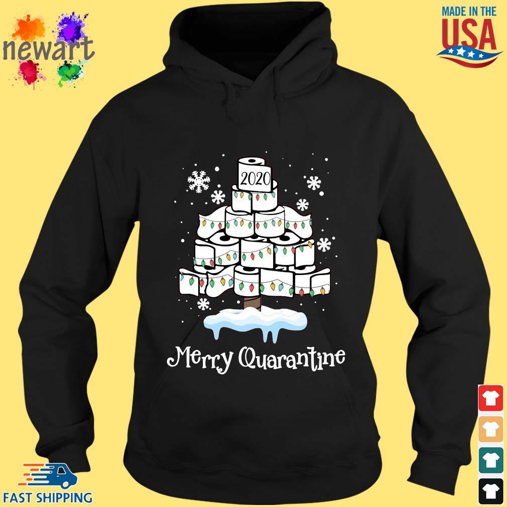 2020 toilet paper Merry Christmas quarantine sweater hoodie den