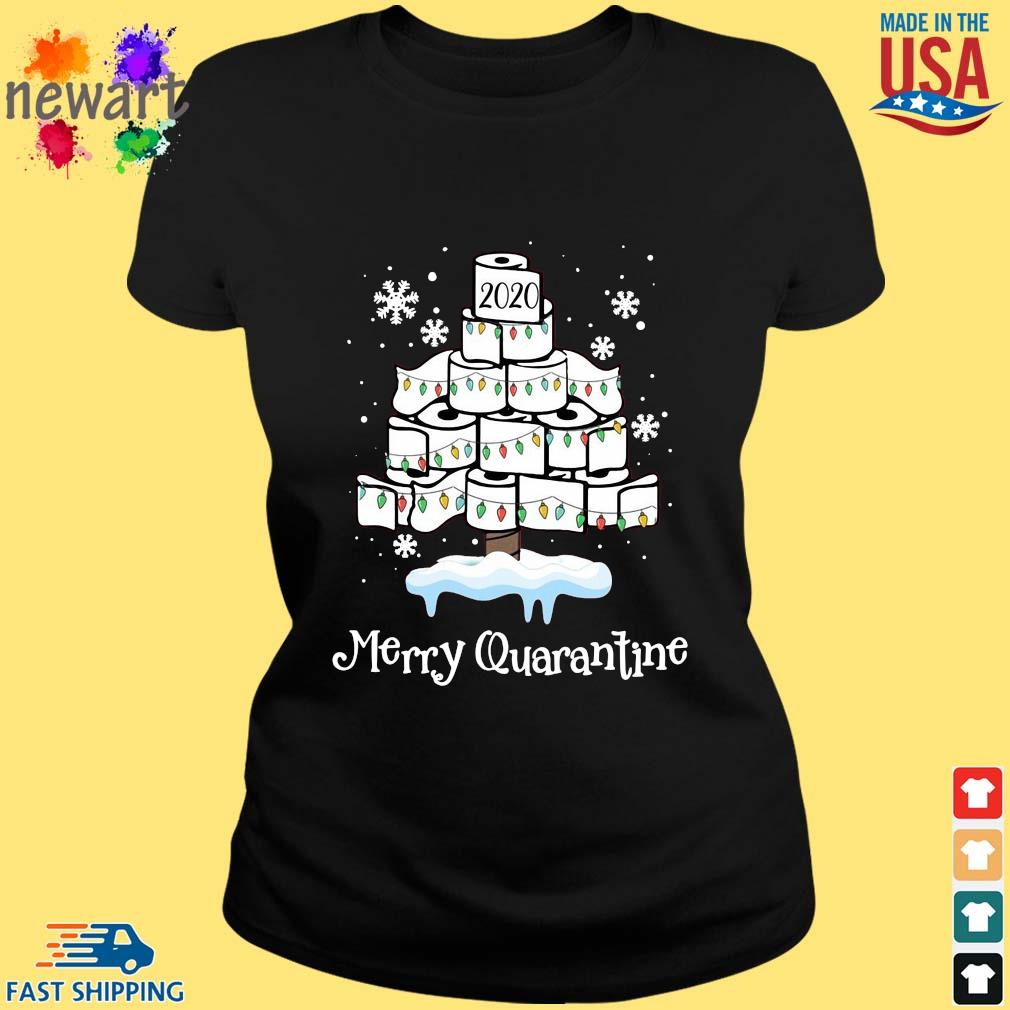 2020 toilet paper Merry Christmas quarantine sweater ladies den