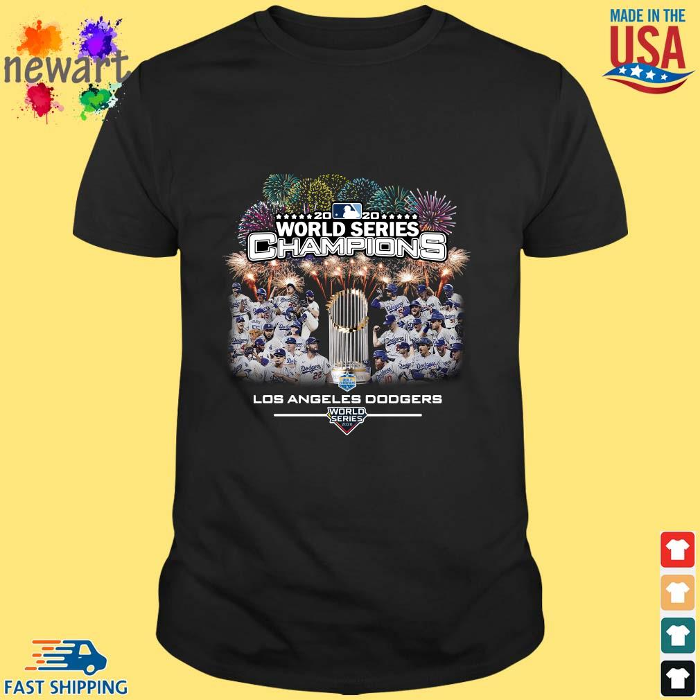 2020 World Series Champions Los Angeles Dodgers Shirt Shirt den