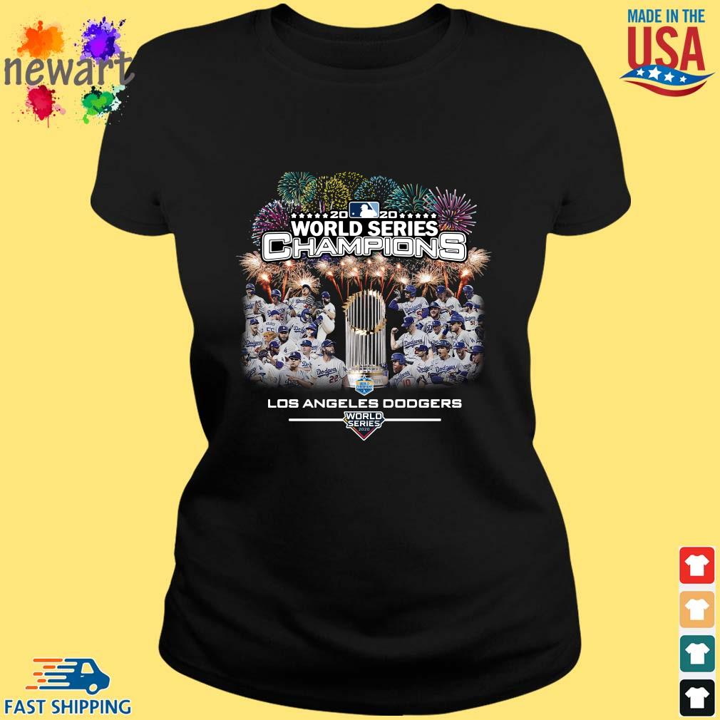 2020 World Series Champions Los Angeles Dodgers Shirt ladies den