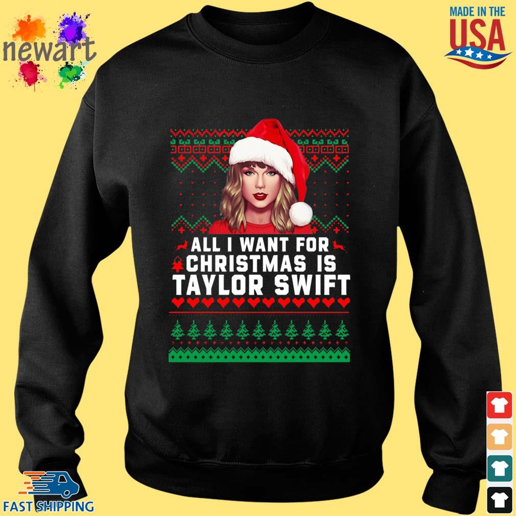 All I want for Christmas is Taylor Swift Ugly Christmas sweater