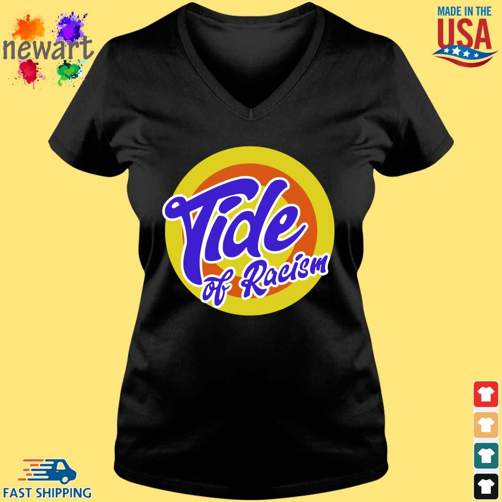 Anti Trump Tide Of Racism s Vneck den