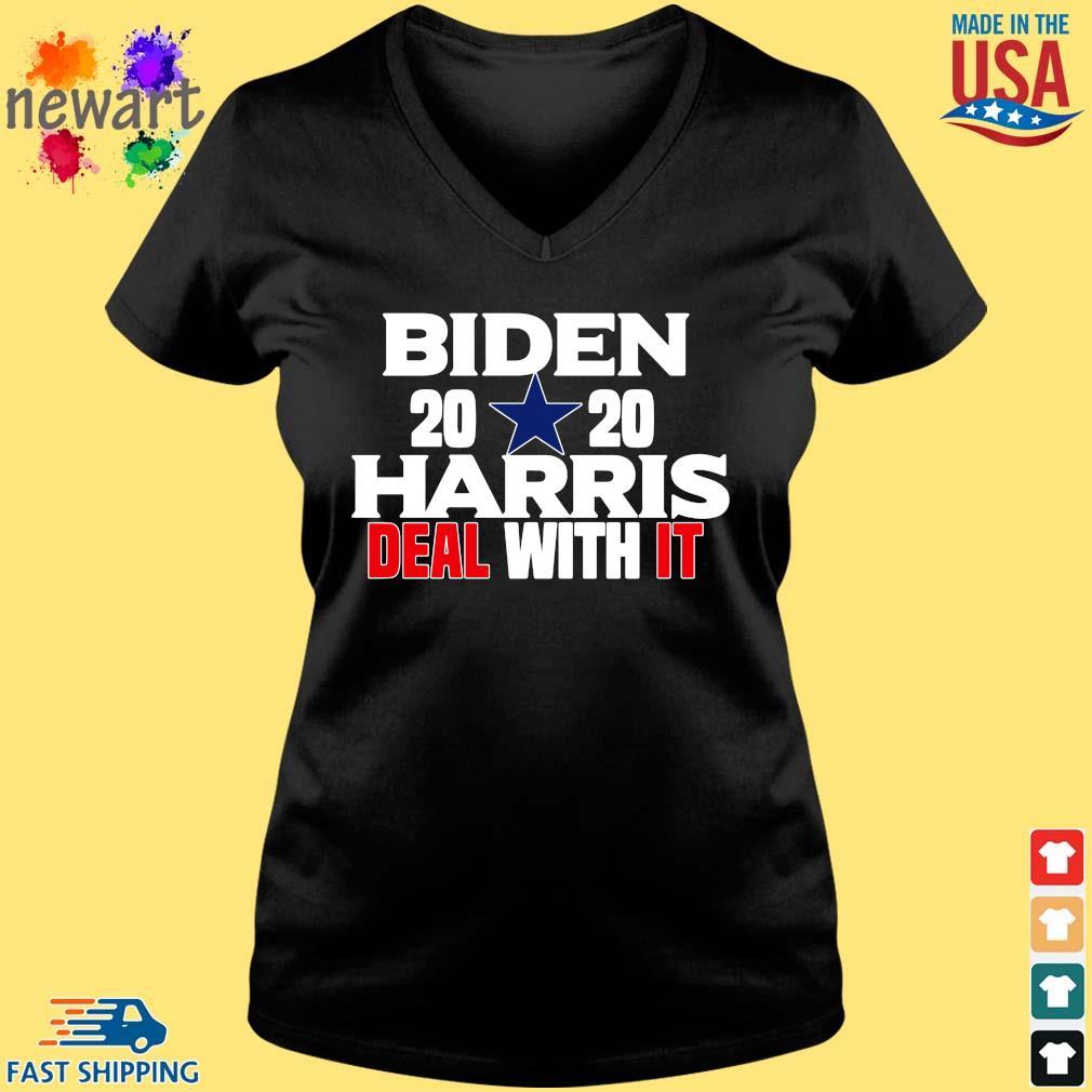 Biden 2020 Harris deal with it s Vneck den