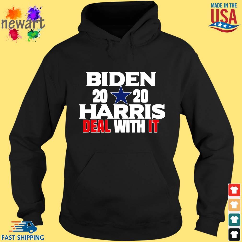 Biden 2020 Harris deal with it s hoodie den