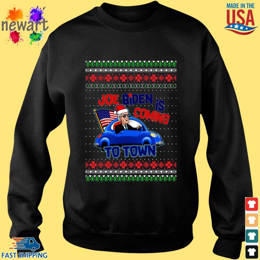Biden Is Coming To Town New President Potus 2020 Ugly Christmas Sweater