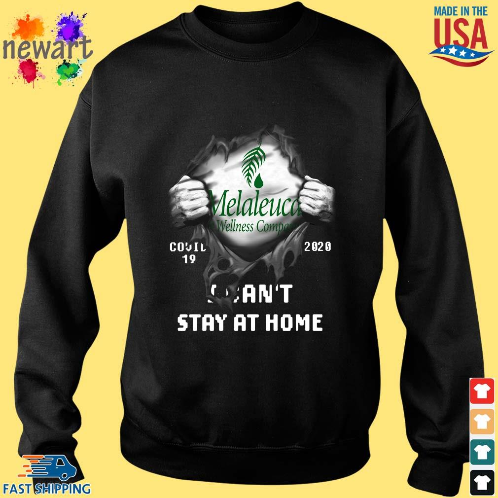 Blood inside Me Melaleuca Wellness Company Covid 19 2020 I can't stay at home shirt