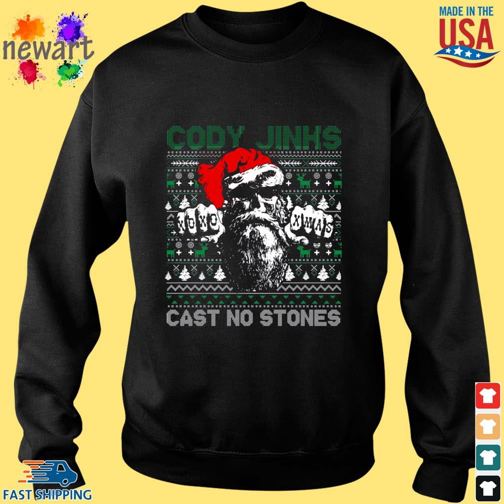 Cody Jinks cast no stones Ugly Christmas sweater