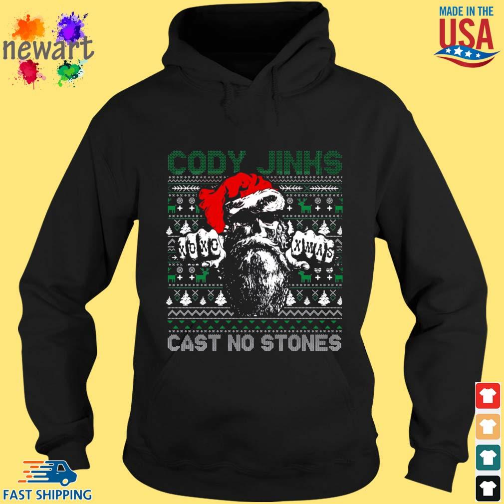 Cody Jinks cast no stones Ugly Christmas sweater hoodie den