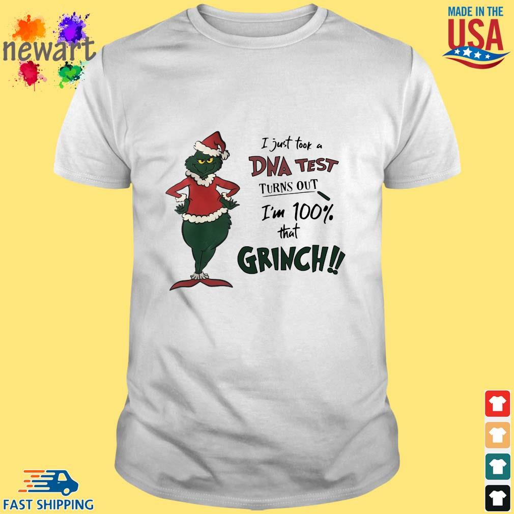 I just took a DNA test turns out I'm 100% that Grinch Santa sweater