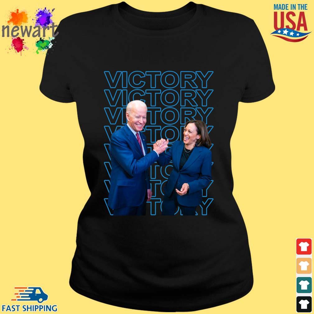 Joe Biden and Kamala Harris victory s ladies den