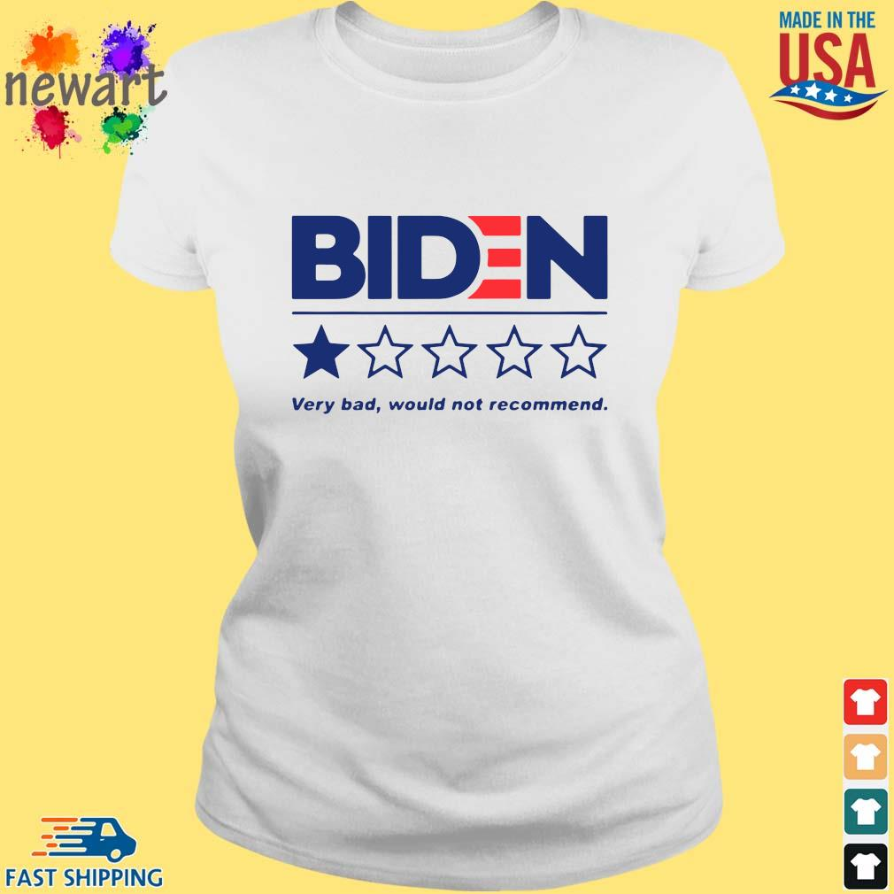Joe Biden very bad would not recommend s ladies trang