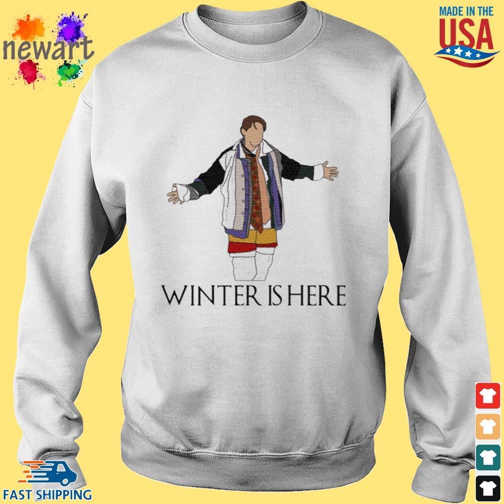 Joey Winter Is Here Shirt Sweater trang