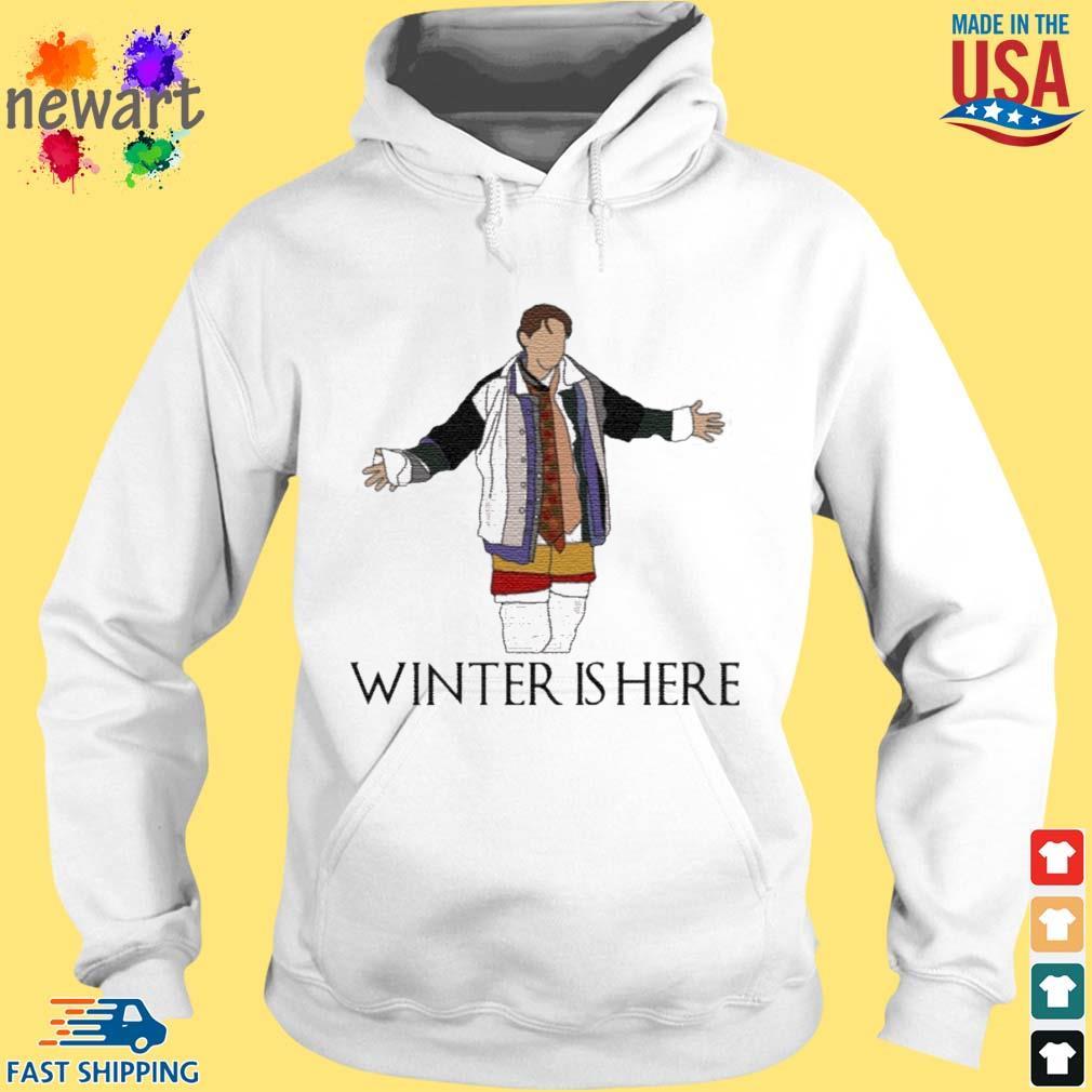Joey Winter Is Here Shirt hoodie trang