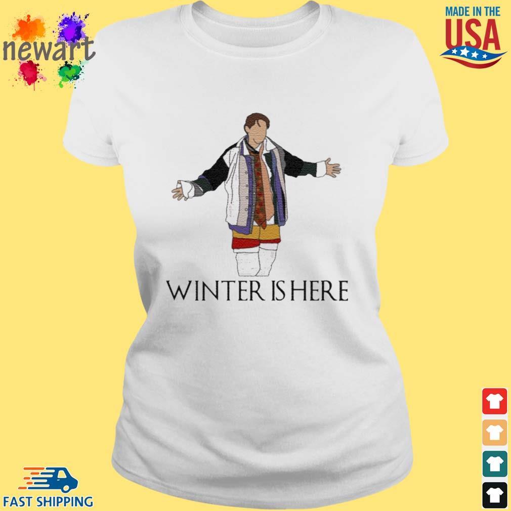 Joey Winter Is Here Shirt ladies trang