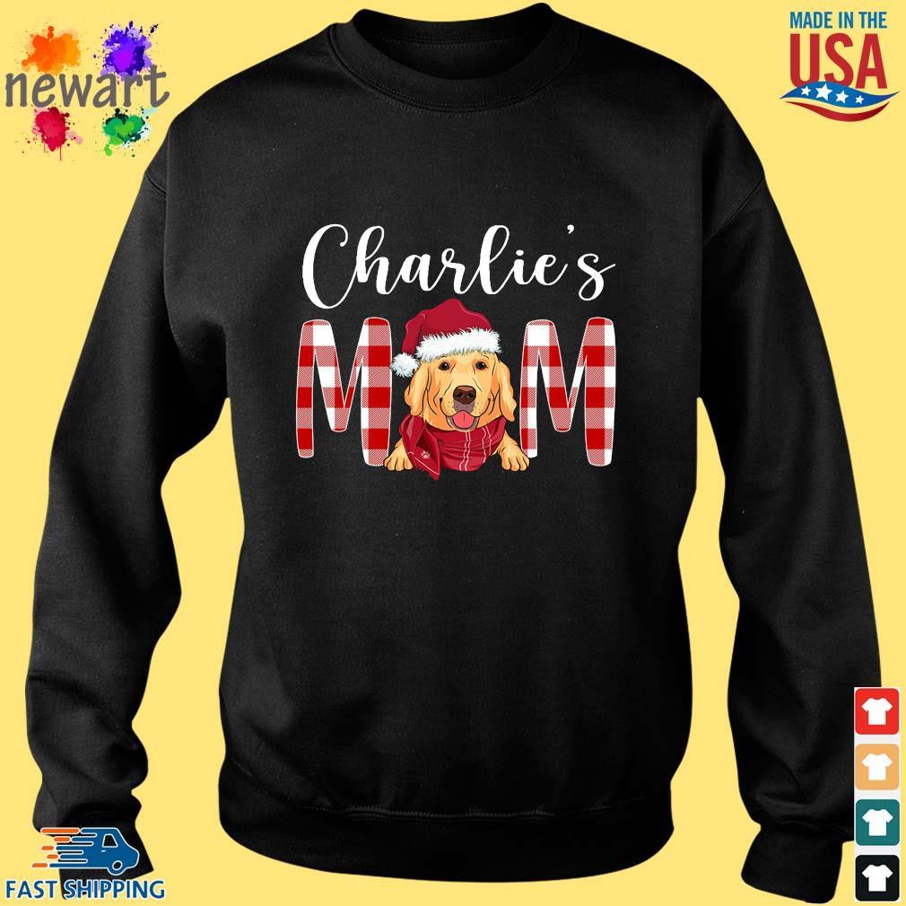 Santa Golden Retriever Charlie's Mom Christmas Sweater